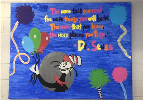 Dr. Seuss Canvas