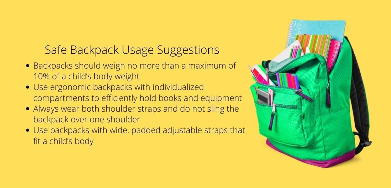 Safe Backpack Usage Suggestions