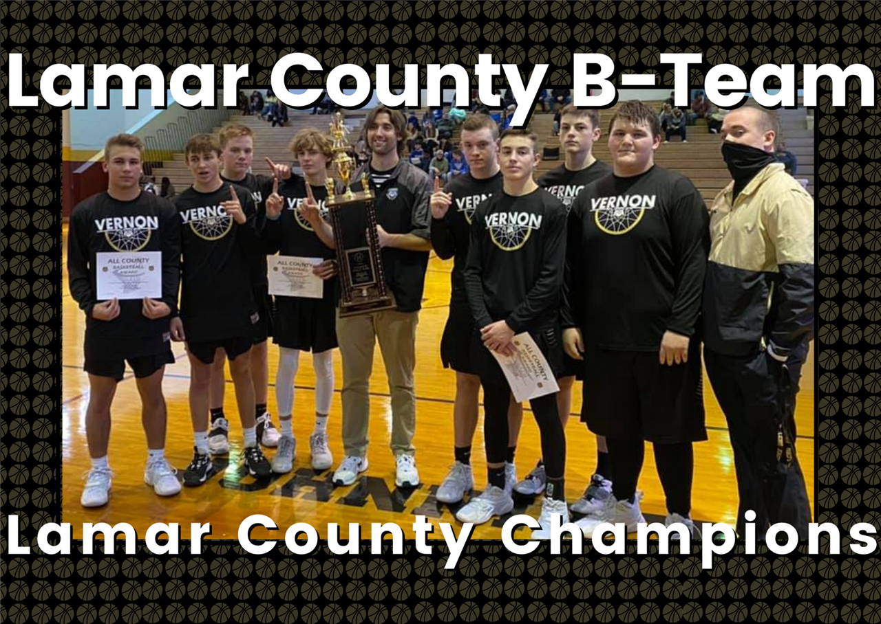 LCHS B-Team County Champions