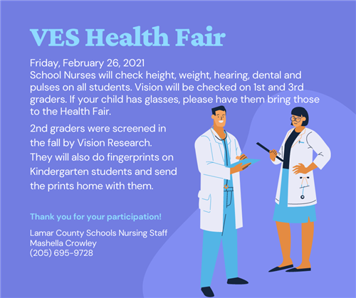 VES Health Fair